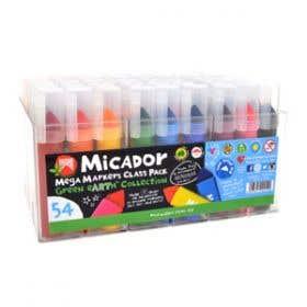 Micador Mega Marker Classroom Set