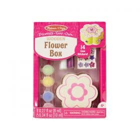 M&D Decorate Your Own Wooden Flower Box Kit