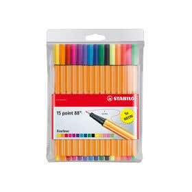 STABILO Point 88 Assorted Fineliner Pen Set