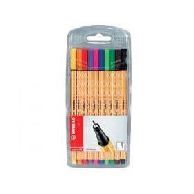 STABILO Point 88 Assorted Fineliner Pen Sets