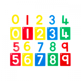 EC Number Stencil Set
