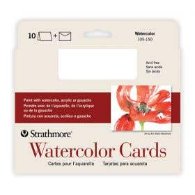 Strathmore Water Colour Cards & Envelope Pack