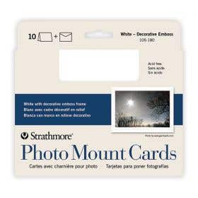 Strathmore Photomount Cards & Envelopes Packs