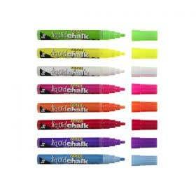 Texta Liquid Chalk Wet Wipe Markers 15mm