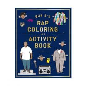 Bun BS Rap Colouring and Activity Book