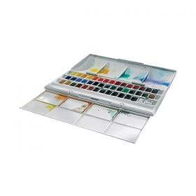 Winsor & Newton Cotman Half Pan Studio Set 45