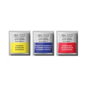 Winsor & Newton Artists' Water Colour Paint Half Pans