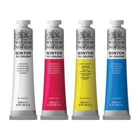 Winsor & Newton Winton Oil Colours 200ml