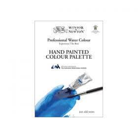 Winsor & Newton Professional Watercolour Hand Painted Colour Palette
