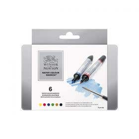 Winsor & Newton Water Colour Marker Set 6