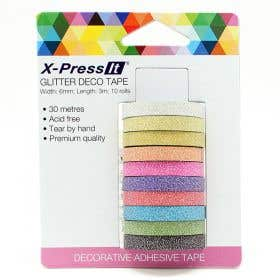 X-Press It Glitter Deco Tape Pack