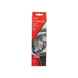 Derwent Charcoal Pencil Tin 6