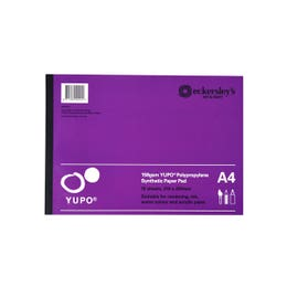 Eckersley's Yupo Pads 158gsm A4 Pack 15