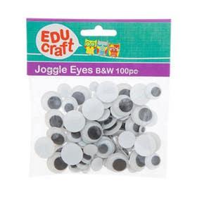 EDUcraft Joggle Eyes Pack 100