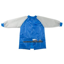 EDUcraft Smocks Blue/Grey Toddler Long Sleeve