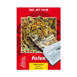 Folex Ink Jet Film Clear A3