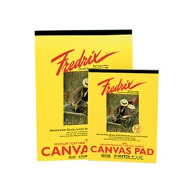 Fredrix Canvas Pads 380gsm 10 Pages 228mm x 305mm