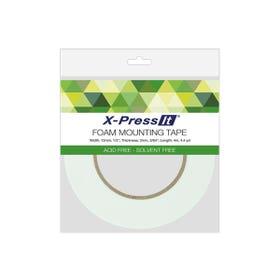 X-Press It Double-Sided Foam Tape Rolls 12mm x 4m