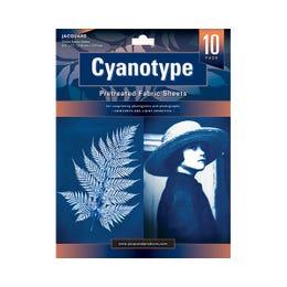 Jacquard Cyanotype Pretreated Fabric Sheet Pack 10