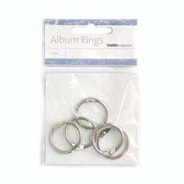 Kaisercraft Album Rings Silver 25mm