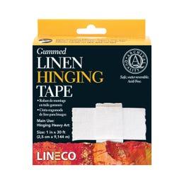 Lineco Gummed Linen Hinging Tape