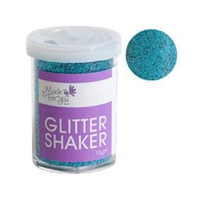 Jasart Fine Glitter Shaker Turquoise 15g