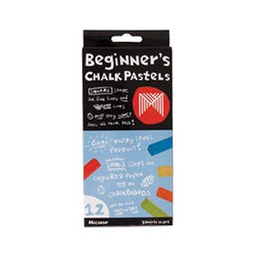 Micador Beginner's Chalk Pastels Set 12