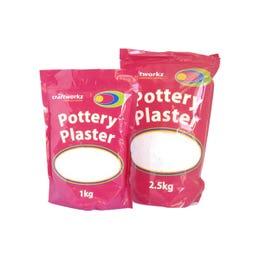 D&L Pottery Plaster 1kg