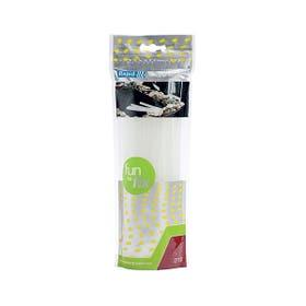 Rapid Glue Gun Stick Transparent Pack 10