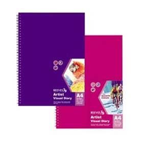 Reeves Visual Diaries A5 Purple
