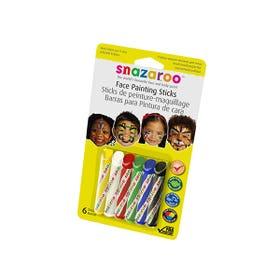 Snazaroo Face Paint Stick Unisex Pack 6