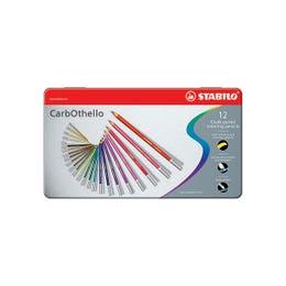 STABILO Carbothello Pastel Pencil Tin 12