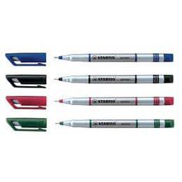 STABILO Sensor Fineliner Pens 0.3mm Black Fibre