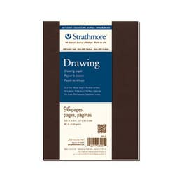 """Strathmore Series 400 Softcover Drawing Journals 130gsm 48 Pages 5.5"""" x 8"""""""