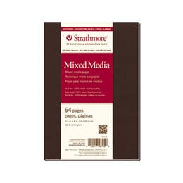 """Strathmore Series 500 Softcover Mixed Media Journals 190gsm 32 Pages 5.5"""" x 8"""""""