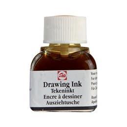 Talens Waterproof Drawing Ink Black 11ml