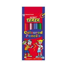 Texta Colour Pencils Box 12