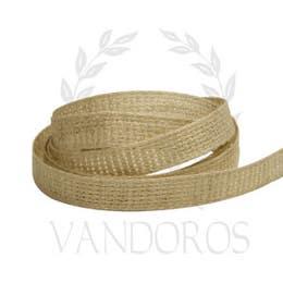 Vandoros Velvet Ribbons Natural 10mm x 1m