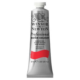 Winsor & Newton Professional Watercolour Paints 37ml Winsor Red Tube