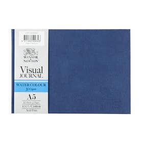 Winsor & Newton Hard Bound Watercolour Visual Journals A5