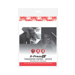 X-Press It Transfer A4 Papers White Pack 20