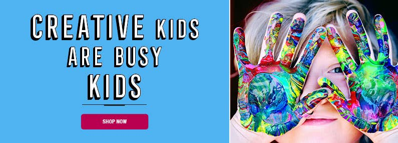 Creative Kids are Busy Kids