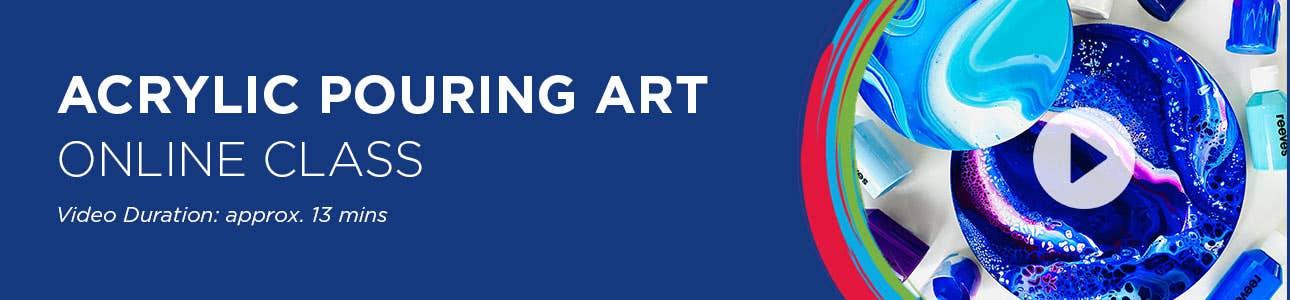 Pouring Art Online Class