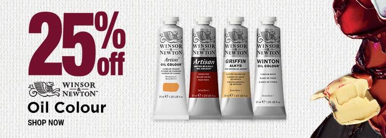 Winsor & Newton Oil Paints