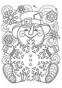 Crayola Snowman