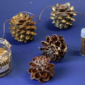 Christmas Pine Cone Decoration
