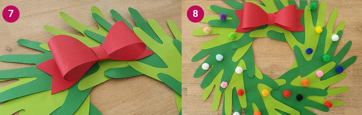 Wreath Steps 7-8
