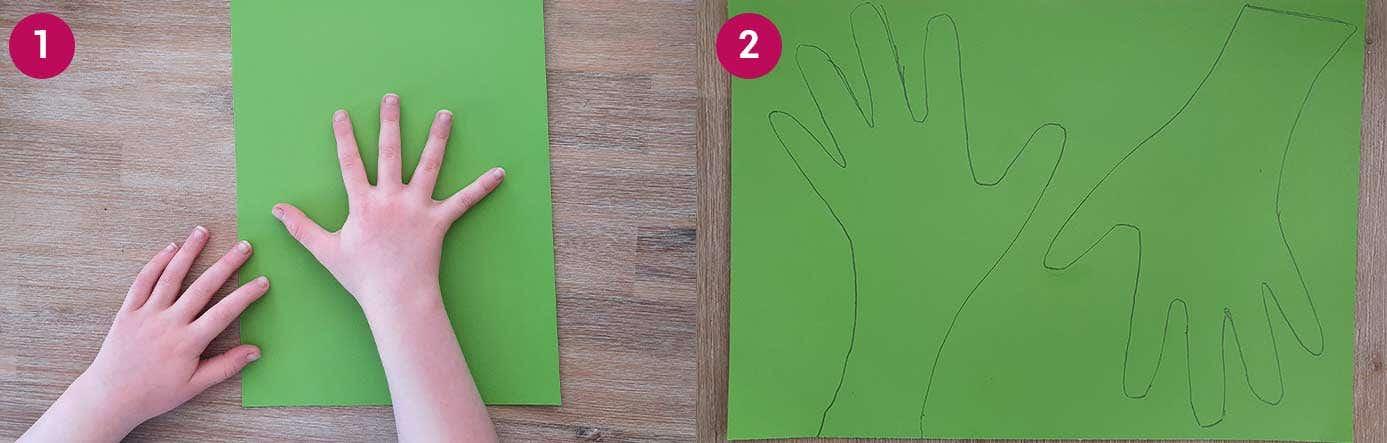 Wreath Steps 1-2
