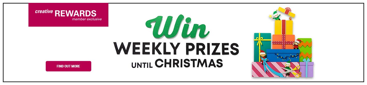 Weekly Prizes Until Christmas