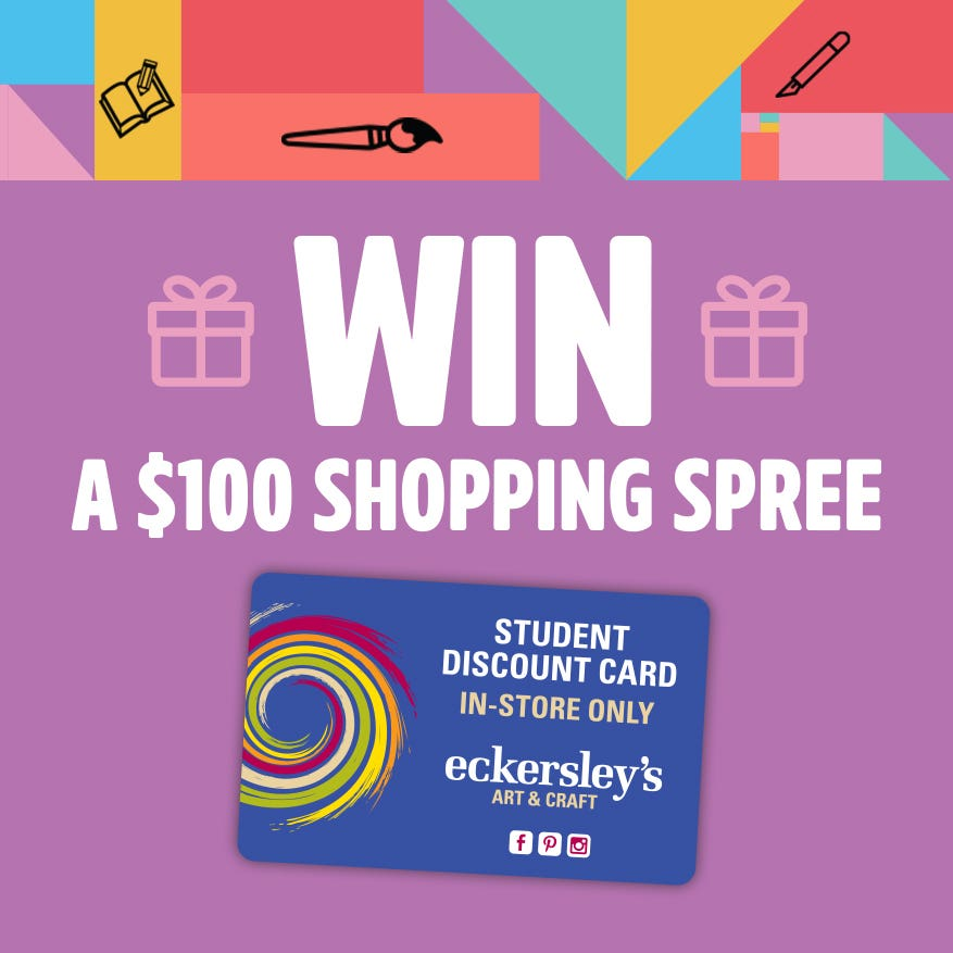 Eckersley's Student Card Competition